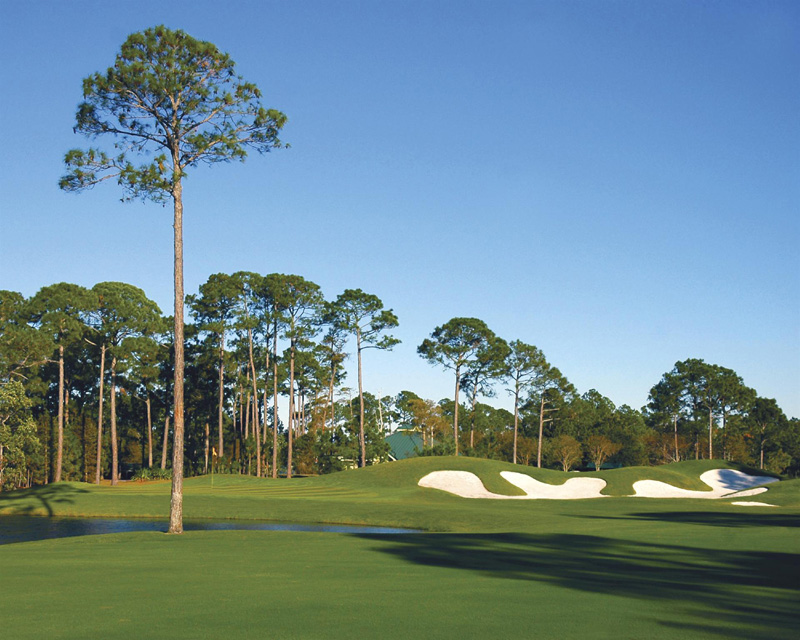 Enjoy discounted golf at  Sandestin Golf and Beach Resort as part of Tee Off for Toys weekend
