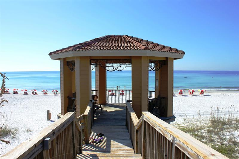 Gulf Front Private Gazebo