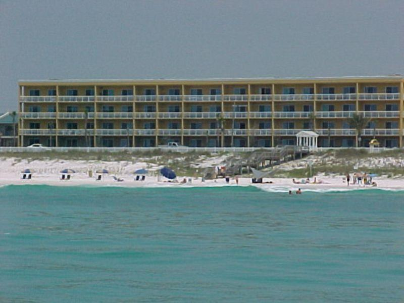 View of condo from the Gulf