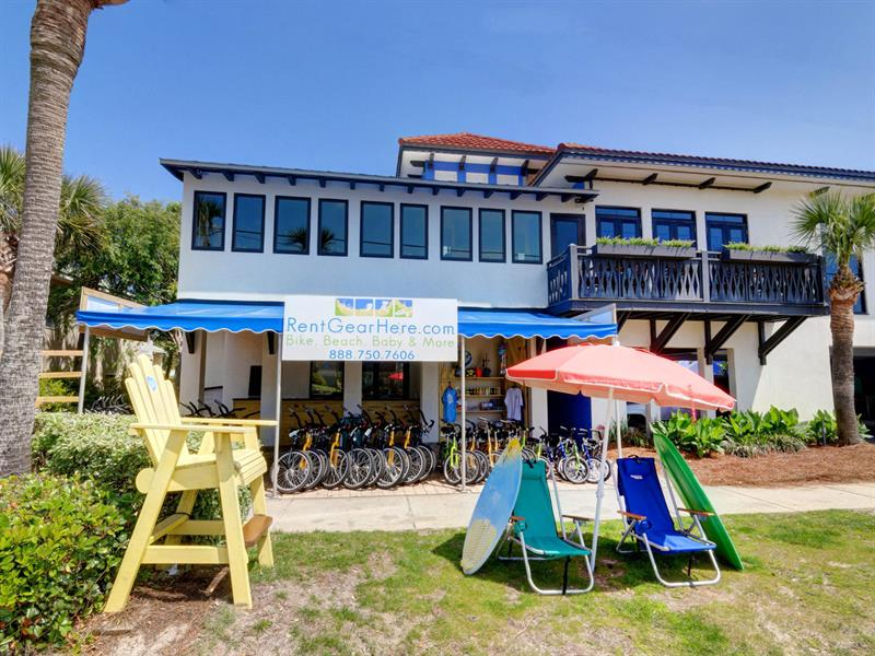 Bikes, Beach Chairs and Toys available for Rent