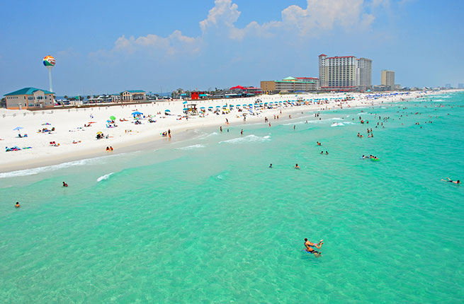 Fodor s ranks florida panhandle 6 on its 2015 go list for Warm places to visit in december in usa