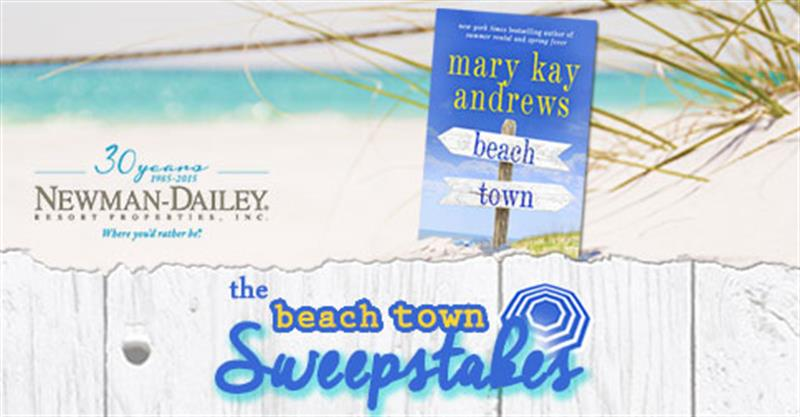 "Enter the ""Beach Town"" Sweepstakes"