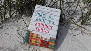 Mary Kay Andrews Summer Rental Paperback Pillow Drop