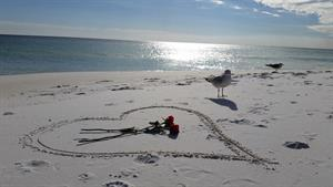 Valentines Day Beach Getaway Package