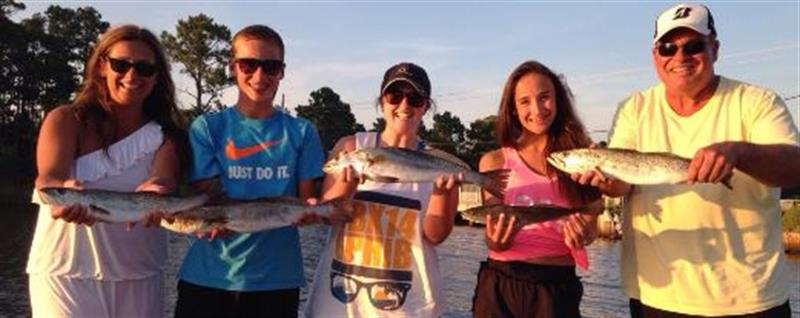 Best fishing charters for families with kids and teenagers for Destin fishing guides
