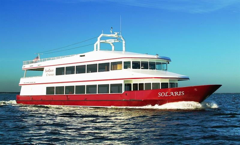 Thanksgiving Lunch and Dinner Cruises Aboard the Solaris
