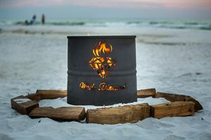 Hidden Dunes Resort Beach Bonfire Experience